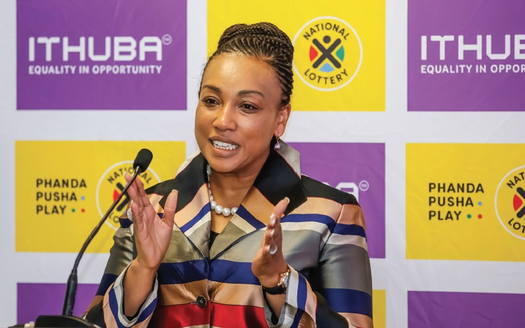 Ithuba's Charmaine Mabuza: A woman with a cause
