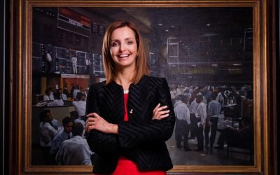 Listen to Leila Fourie, CEO of JSE, talking to us about opportunities in Africa, technology and learning from those who came before us