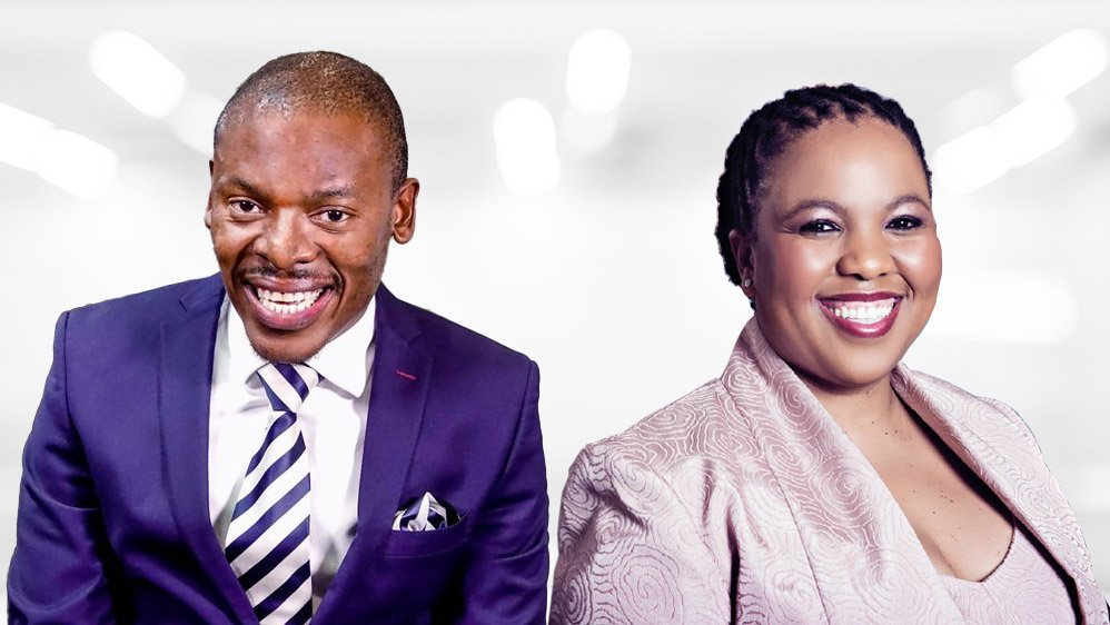 Looking to the future with Standard Bank's Funeka Montjane and Khomotso Molabe