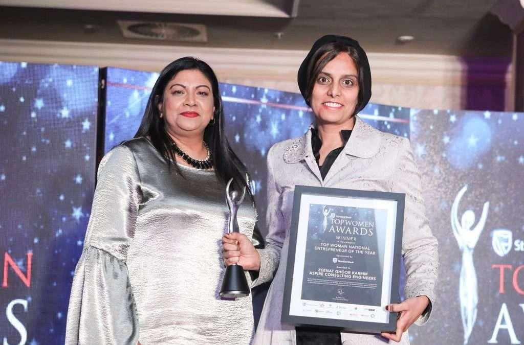 Standard Bank Top Women Entrepreneur – Zeenat Ghoor – Aspiring to give back